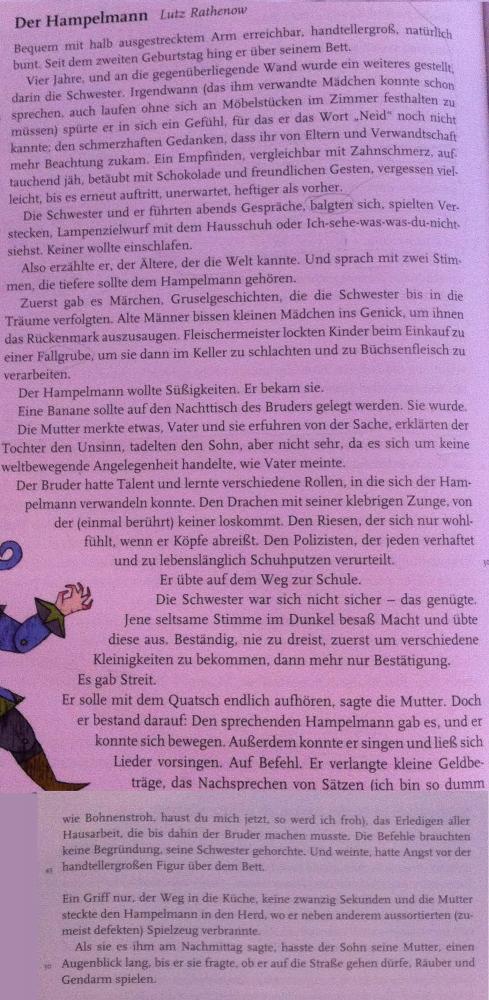 Der Hampelmann von Lutz Rathenow - Deutsch Forum